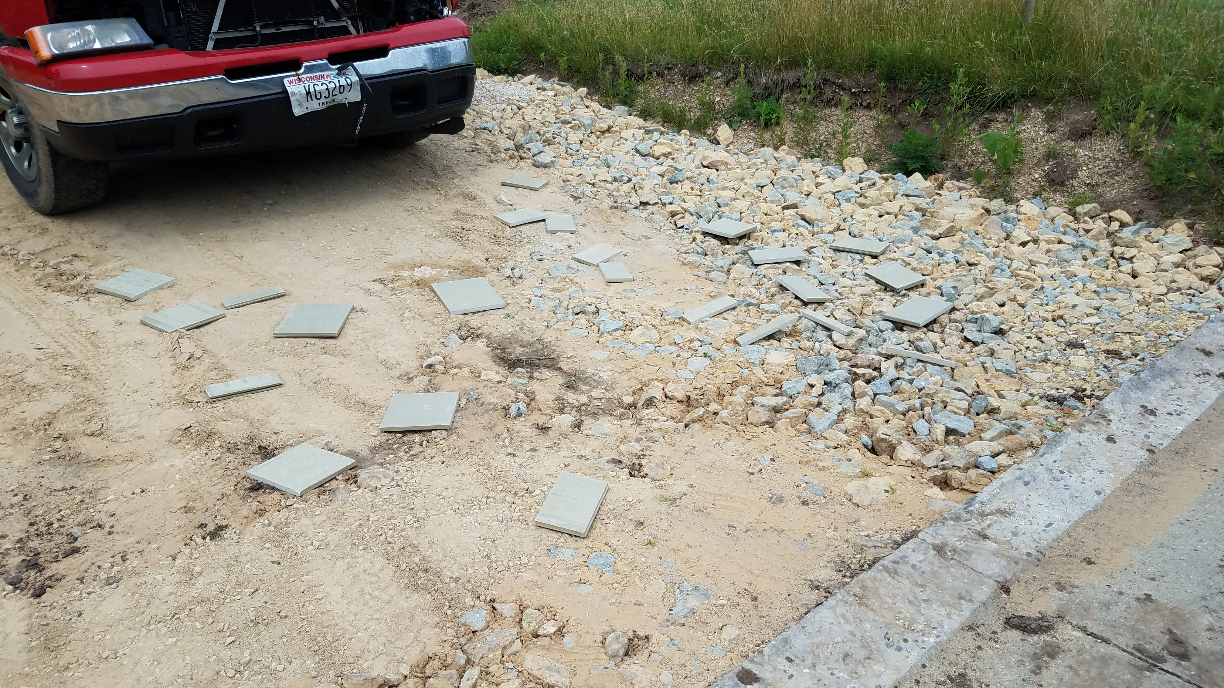 cement board waste